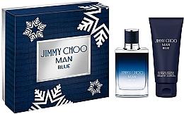 Parfumuri și produse cosmetice Jimmy Choo Man Blue - Set (edt/50ml + sh/gel100ml)
