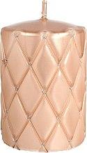 Parfumuri și produse cosmetice Lumânare decorativă, 10 cm, aur roz - Artman Florence Candle