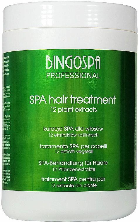 "Tratament pentru păr ""12 extracte din plante"" - BingoSpa Spa Treatment For Hair 12 Plant Extracts"