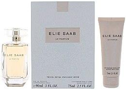 Parfumuri și produse cosmetice Elie Saab Le Parfum - Set (edt/90ml + b/lot/75ml)