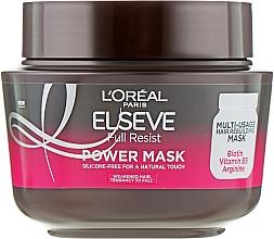 Mască pentru păr suprasolicitat - L'Oreal Paris Elseve Full Resist Power Mask — Imagine N1