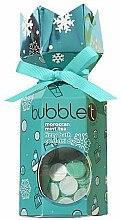 """Parfumuri și produse cosmetice Set """"Ceai marocan și Mentă"""" - Bubble T Bath Fizzy Moroccan Mint Tea (bomb/100g+confetti/25g)"""