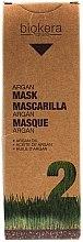 Parfumuri și produse cosmetice Mască de păr cu ulei de argan - Salerm Biokera Argan Mask