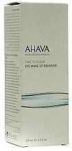 Parfumuri și produse cosmetice Soluție pentru îndepărtarea machiajului ochilor - Ahava Time To Clear Eye Make Up Remove