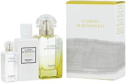 Parfumuri și produse cosmetice Hermes Le Jardin de Monsieur Li - Set (edt/50ml + b/lot/40ml + edt/7.5ml)