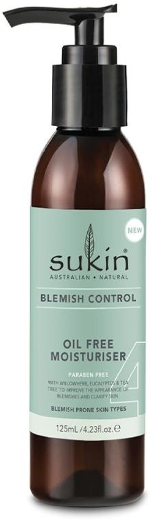 Cremă hidratantă, fără ulei - Sukin Blemish Control Oil Free Moisturiser — Imagine N1