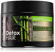 """Parfumuri și produse cosmetice Mască de păr """"Cărbune de bambus"""" - Dr. Sante Detox Hair Mask"""