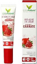 """Parfumuri și produse cosmetice Cremă pentru zona ochilor """"Rodie"""" - Cosnature Eye Cream Pomegranate"""