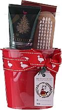 Parfumuri și produse cosmetice Set - Baylis & Harding Tin of Treats Set (h/cr/50ml + nail/brush + bath/salt/75g)