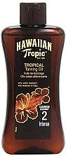 Parfumuri și produse cosmetice Loțiune pentru accelerarea bronzării - Hawaiian Tropic Sun Tan Oil Intense SPF 2