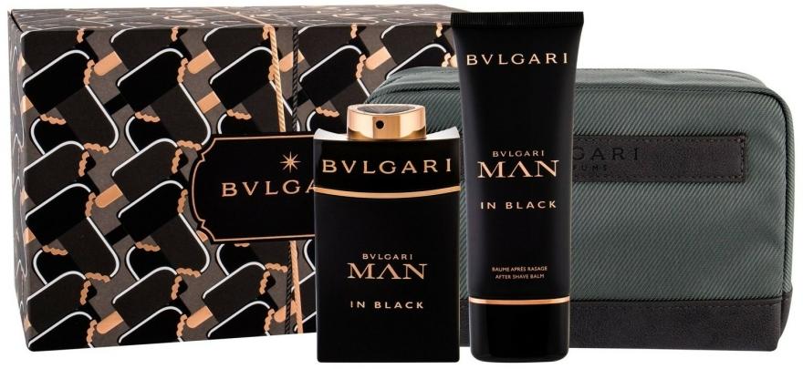 Bvlgari Man In Black - Set (edp/100ml + ash/balm/100ml + bag) — Imagine N1