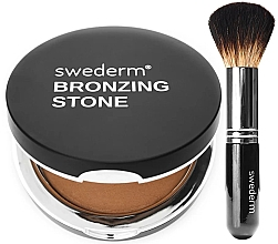 Parfumuri și produse cosmetice Set - Swederm (bronzer/13g + brush/1pcs)