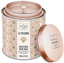 Parfumuri și produse cosmetice Scottish Fine Soaps La Paloma - Pudră parfumată pentru baie