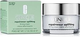 Parfumuri și produse cosmetice Cremă cu efect de fermitate pentru față - Clinique Repairwear Uplifting Firming Cream SPF15 Skin Type 2,3