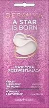 Parfumuri și produse cosmetice Mască cu efect iluminator pentru față - Dermika A Star is Born