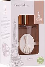 Parfumuri și produse cosmetice Parfums Sophie La Girafe Eau de Toilette - (edt/100ml+acc)