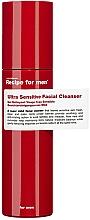 Parfumuri și produse cosmetice Gel blând de spălare - Recipe For Men Ultra Sensitive Facial Cleanser