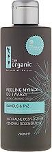 Parfumuri și produse cosmetice Scrub pentru față - Be Organic Facial Cleansing Scrub