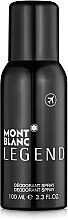 Parfumuri și produse cosmetice Montblanc Legend - Deodorant