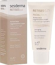 Cremă antirid regenerantă pentru piele matură - SesDerma Laboratories Retises 0.25% Antiwrinkle Regenerative Cream — Imagine N1
