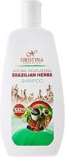 "Parfumuri și produse cosmetice Șampon hidratant ""Ierburi braziliene"" - Hristina Cosmetics Brazilian Herbs Shampoo"