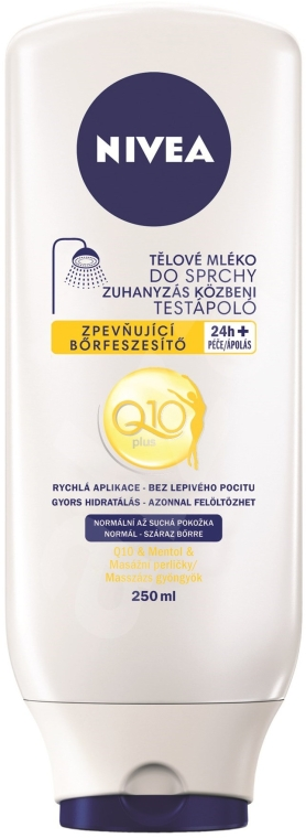 Loțiune de duș - Nivea In-Shower Firming Lotion Q10 — Imagine N1