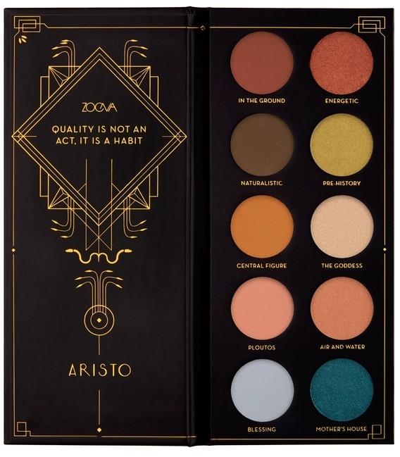 Paletă farduri de ochi - Zoeva Aristo Eyeshadow Palette