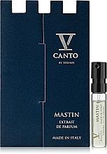 Parfumuri și produse cosmetice V Canto Mastin - Parfum (mostră)