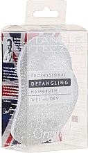 Parfumuri și produse cosmetice Perie de păr, argintie cu paiete - Tangle Teezer Detangling The Original Silver Sparkle