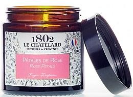 """Parfumuri și produse cosmetice Lumânăre parfumată """"Petale de trandafir"""" - Le Chatelard 1802 Rose Petals Scented Candle"""