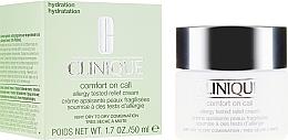 Parfumuri și produse cosmetice Cremă nutritivă - Clinique Comfort On Call Allergy Tested Relief Cream