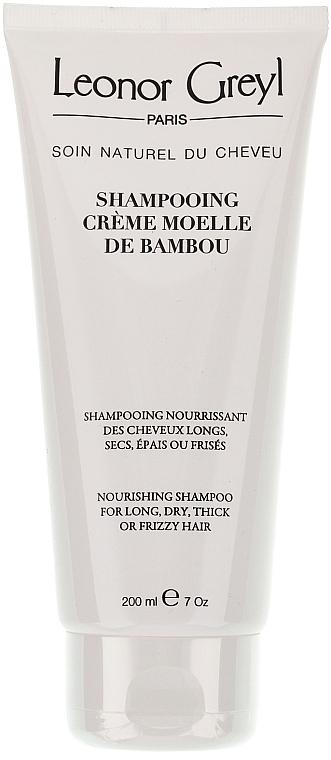 Șampon-balsam pentru păr lung - Leonor Greyl Shampooing Creme Moelle de Bambou — Imagine N2