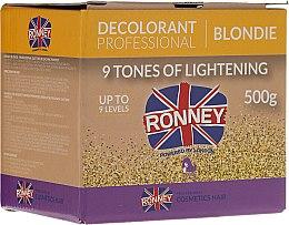 Parfumuri și produse cosmetice Pudră decolorantă până la 9 tonuri - Ronney Professional Decolorant Professional Blondie