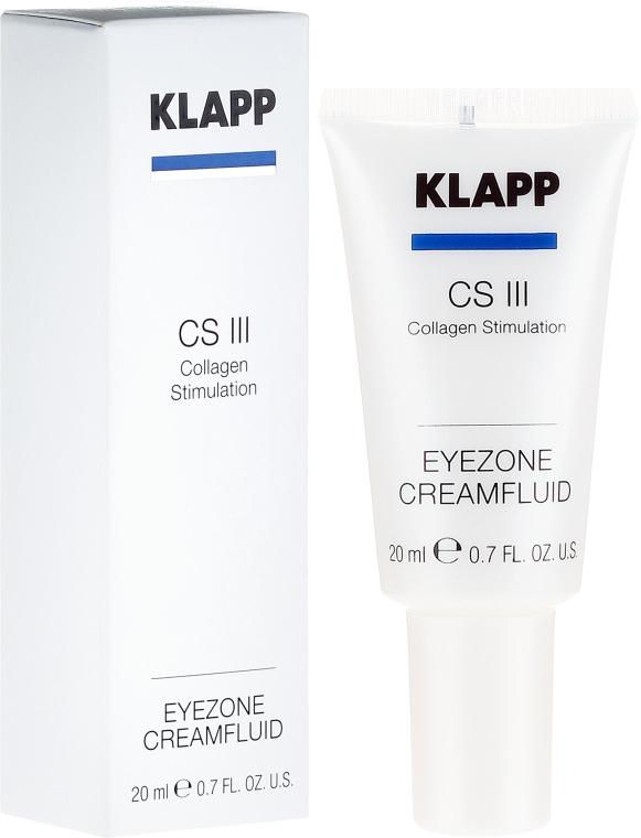 "Cremă pentru pleoape ""Colagen"" - Klapp Collagen CSIII Eye Zone Cream Fluid — Imagine N1"