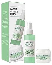 Parfumuri și produse cosmetice Set - Mario Badescu Cucumber Mask & Mist Duo Set (mask/56g+spray/118ml)