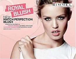 Fard de obraz - Rimmel Match Perfection Blush — Imagine N3