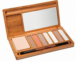 Parfumuri și produse cosmetice Paletă fard de pleoape - Alilla Cosmetics Nude Palette