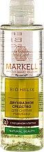 Parfumuri și produse cosmetice Demachiant pentru față - Markell Cosmetics Bio Helix