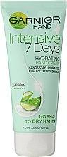 """Parfumuri și produse cosmetice Cremă pentru mâini """"7 zile"""" - Garnier 7 Days Hydration Moisturizing Hand Cream"""