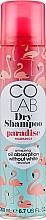 Parfumuri și produse cosmetice Șampon uscat cu parfum de cocos - Colab Paradise Dry Shampoo