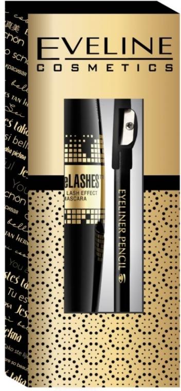 Set - Eveline Cosmetics (mascara/10ml + pencil/1.2g) — Imagine N1
