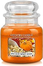 Parfumuri și produse cosmetice Lumânăre aromată - Country Candle Spiced Pumpkin Seeds