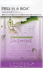 """Parfumuri și produse cosmetice Set pentru pedichiură """"Iasomie"""" - Voesh Pedi In A Box Deluxe Pedicure Jasmine Soothe (35 g)"""