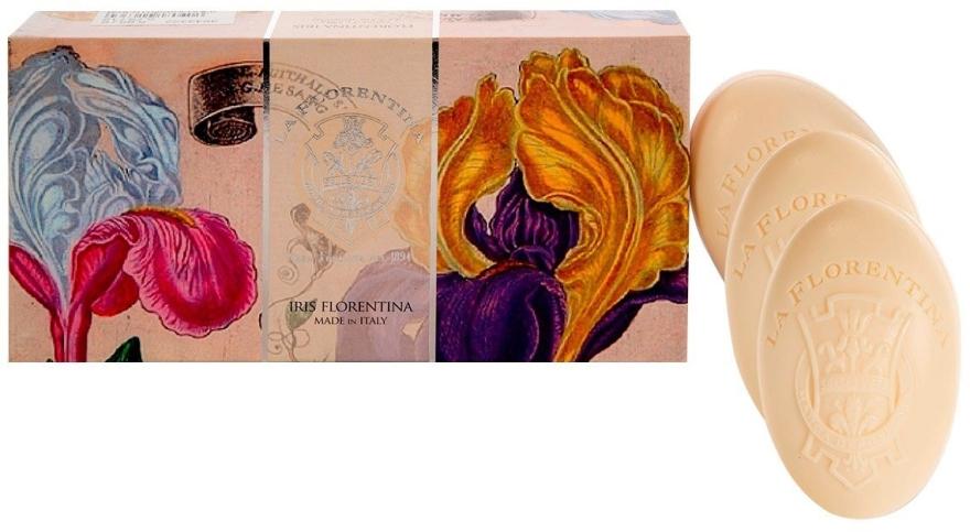 "Set săpunuri ""Iris"" - La Florentina Iris Soap"