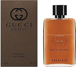 Gucci Guilty Absolute - Apă de parfum — Imagine N2
