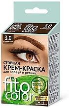 Parfumuri și produse cosmetice Vopsea pentru sprâncene și gene - FitoKosmetik FitoColor