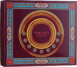Parfumuri și produse cosmetice Versace Crystal Noir - Set (edt/90ml + b/lot150ml + edt/10ml)
