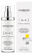 Parfumuri și produse cosmetice Ser regenerant pentru strălucirea feței - Symbiosis London Delight Radiance Restoring Facial Serum