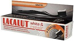 Parfumuri și produse cosmetice Set - Lacalut White & Repair (t/paste/75ml + t/brush/1buc.)