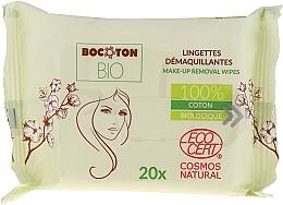Parfumuri și produse cosmetice Șervețele umede organice pentru îndepărtarea machiajului - Bocoton Bio Hydra